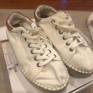 Steve Madden espadrille platform sneakers
